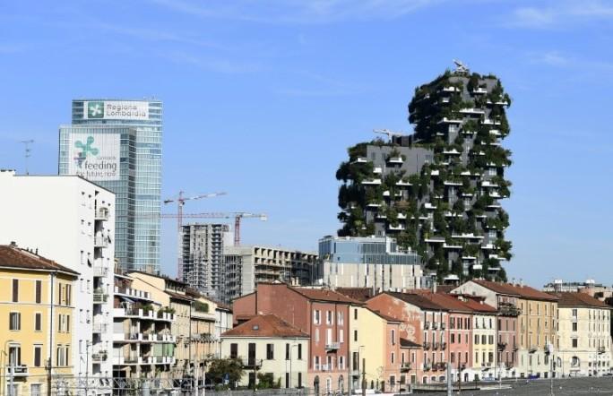 Immeuble végétal en ville